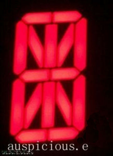 0.8' Alpha Numeric Red LED display common cathode 50pcs