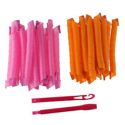 24pcs 36pcs DIY Hair Rollers Curlers Magic Circle Twist Spiral Styling Tools