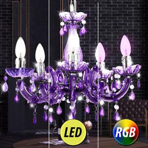 LUXE-LED-RVB-suspendu-Lampe-suspendue-Lustre-ess-CHAMBRE-LUSTRE-PLAFONNIERS