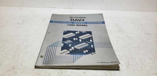 1996 Toyota Rav4 Dealer Service Electronic Wiring Diagram