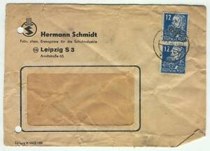 Cover E05 Germany 1950 DDR Engels