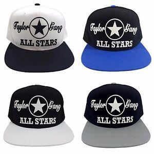 7e1346d60 Details about TAYLOR GANG ALL STARS Flock Snapback Hat Cap