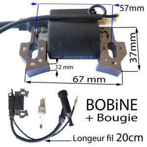 Piece-Groupe-Electrogene-bobine-allumage-bougie-pour-moteur-4-temps