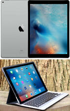 "NEW APPLE IPAD PRO 128GB 12.9"" iCLOUD WiFi CAMERA + LIGHTED KEYBOARD_CASE $1299"