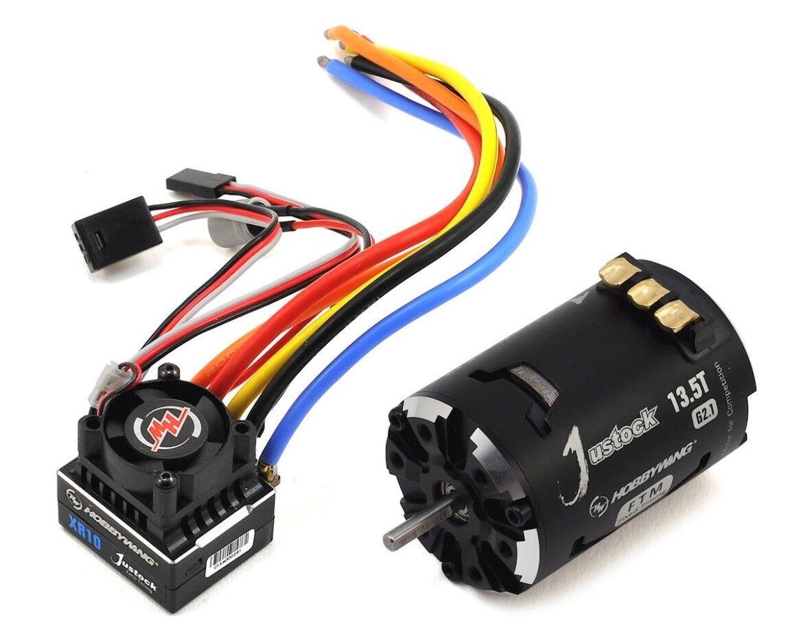 Hobbying 38020240 XR10 Justock G2.1 Combo JS2 -13.5T ESC och BL FTM Motor