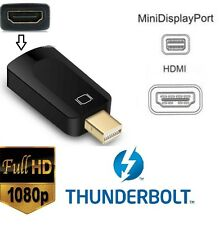 1080P Thunderbolt Mini DisplayPort to hdmi Adapters Apple Macbook Pro Mac Air