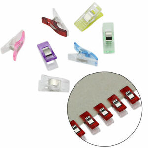 20//50//100PCS Clover Clips Clamp For Crafts Quilting Sewing Knitting Crochet