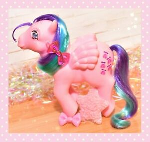 ❤️My Little Pony MLP G1 Vtg Whizzer Gem Twinkle Eye Pegasus Propeller 1985❤️