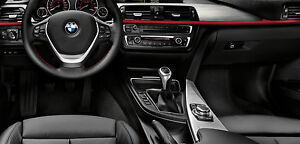 Bmw Oem F30 F31 F36 3 4 Series 2012 Brushed Aluminum With Red