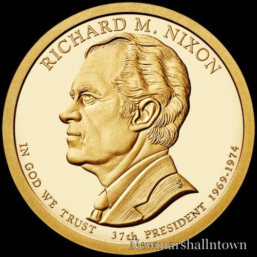 2016 S Presidential Mint Proof Dollar Set ~ Nixon ~ Ford ~ Reagan ~ Three Coins
