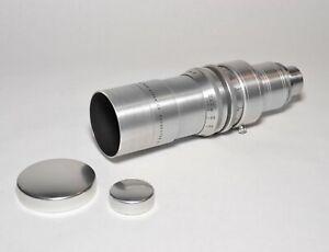 Eastman-Kodak-Anastigmat-102mm-F2-7-Cine-16mm-Lens-w-Caps-Great-Condition