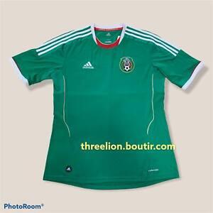 Brand New Adidas 2011 2012 2013 MEXICO Home Soccer Jersey Football Shirt L BNWT