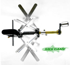 MDI-Game-Quality-Fly-Line-Winder-with-039-G-039-Clamp-and-Support-Bracket