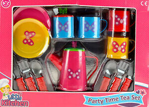 Pretty-Bright-Colour-Butterfly-Child-039-s-Tea-Set-Toy