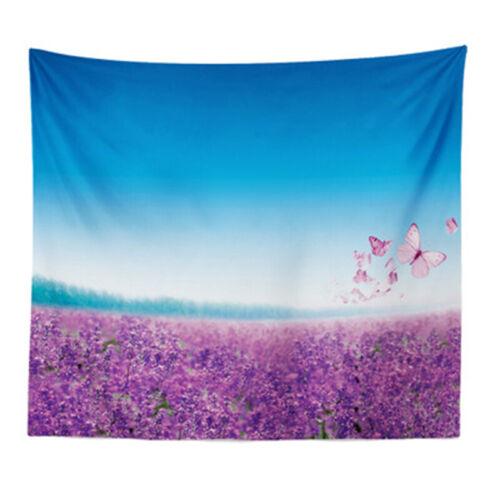 Lavender Scenery Tapestry Wall Hanging Fantastic Home Room Bedside Art Decor