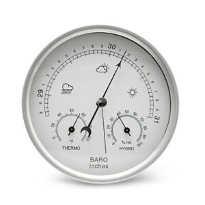 3in1-Barometer-Thermometer-Hygrometer-Dial-Type-Wall-Mounted-Weather-Station