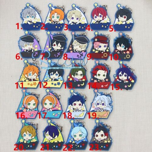 Ensemble Stars ES Anime Rubber Strap Keychain KeyRing Phone Bag Charm  一番くじ Gift