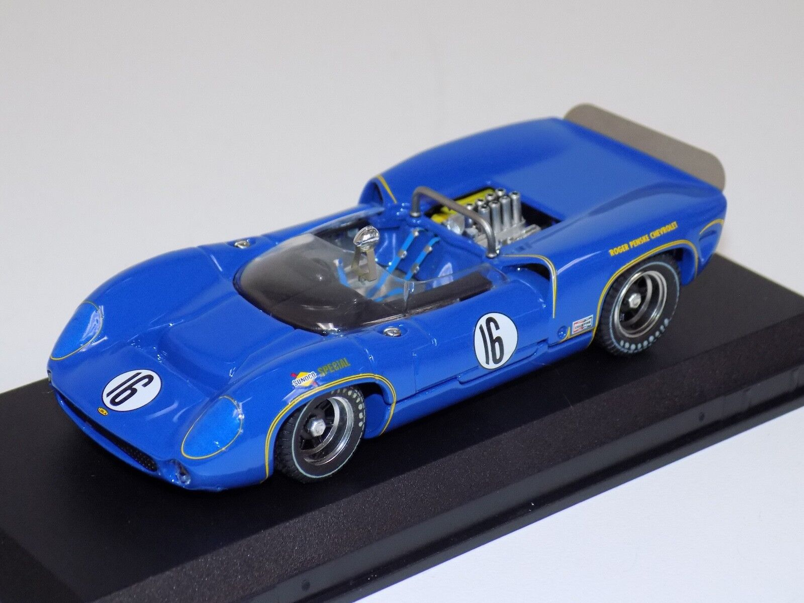 1 43 Best Model Lola T70 Spider Car from 1966 St Jovite M.Donohue  WAW001