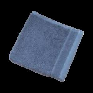 13x13in Balanced Blue 4 Pack of Threshold Ultra Soft Organic Cotton Washcloth
