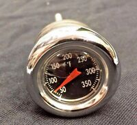 Chrome Oil Tank Dipstick Temperature Gauge Harley Softail 2000-up Hd Bobber