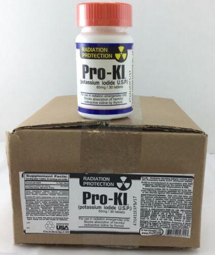 30Tab//65mg Anti-Radiation Survival Tablets Potassium Iodide 6 PACK KI