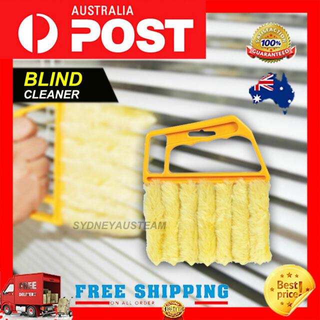 Blinds Cleaner Brush Vertical Window Venetian Blind Hand Held Window Duster AU