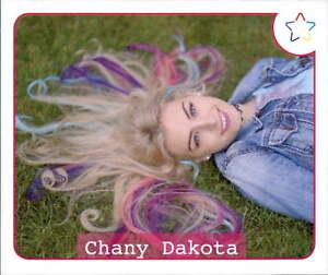Sticker 13-Panini-webstars 2018 Girls-Chany Dakota