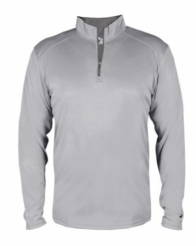 Badger B-Core Youth Pullover Performance 1//4-Zip Top 2102
