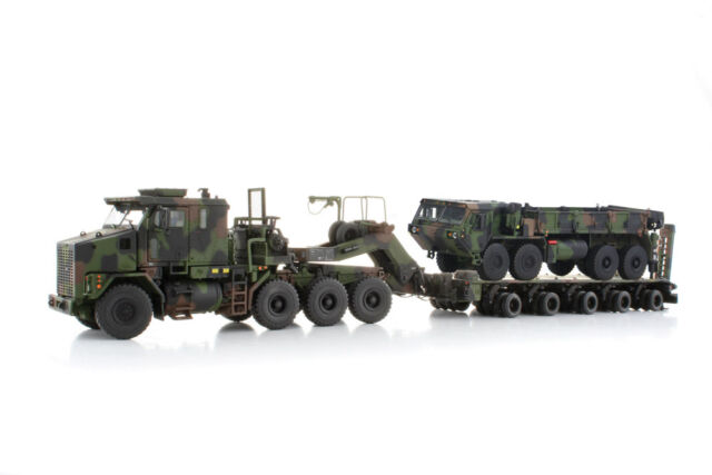 Oshkosh HET M1070 & Hemtt M985 Military Truck - 1/50 - TWH - Sword - Brand New