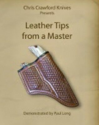 Leather Tips from a Master (Knife Sheath Tips) DVD/knifemaking/leatherwork