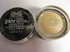 Maybelline COLOR TATTOO Eye Shadow 25 Shady Shores LIMITED Lot of 2