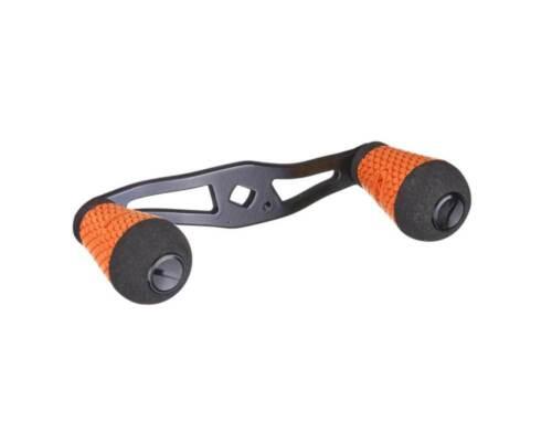 Lew/'s 95MM Aluminum Handle Kit with Round Winn Grip Knob orange CSBAHO