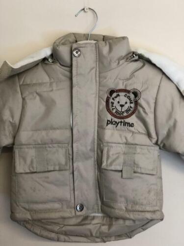 Boys Coat Baby C padded BNWT warm
