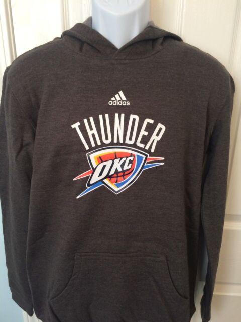 new concept 627ad a29ea Oklahoma City Thunder Adidas YOUTH Boys Hoodie Sweatshirt - XL/L/M/S NWT