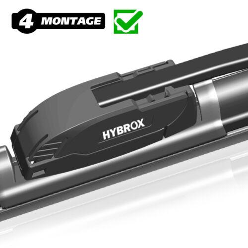 Hybrox essuie-glaces wischerblättersatz 600//600 MM//sh600600f3