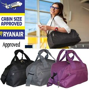 Ryanair-Approved-Free-Shoulder-Hand-Cabin-Luggage-Bag-Travel-Holdall-Under-Seat