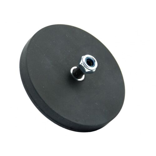 66mm Shop Fitting Retail Magnets with M6 thread or M6 stud and nylock nut