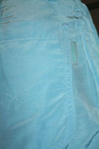 JIGGY Damen Jeans LARGE blue neu Vintage 90er 2000er Techno