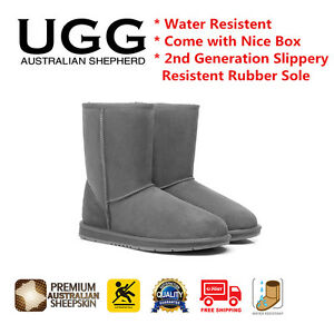 UGG Boots Short Classic Grey