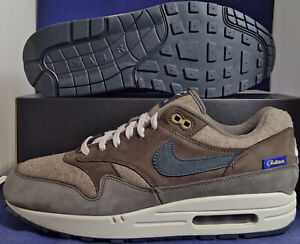 Details about Nike Air Max 1 Premium Pendleton Wool iD Brown Grey Blue SZ 9.5 ( AR1379 994 )