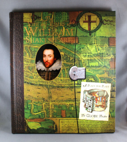 1 of 1 - The Life and Times of William Shakespeare - Brand New Hardcover