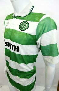 ac66e0bf5 Image is loading GENUINE-VINTAGE-1989-GLASGOW-CELTIC-UMBRO-FOOTBALL-SHIRT-