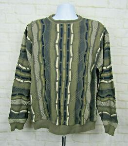 Herren-Vintage-Protege-Collection-Bill-Cosby-Biggie-COOGI-Stil-Pullover-Sz-XL-D