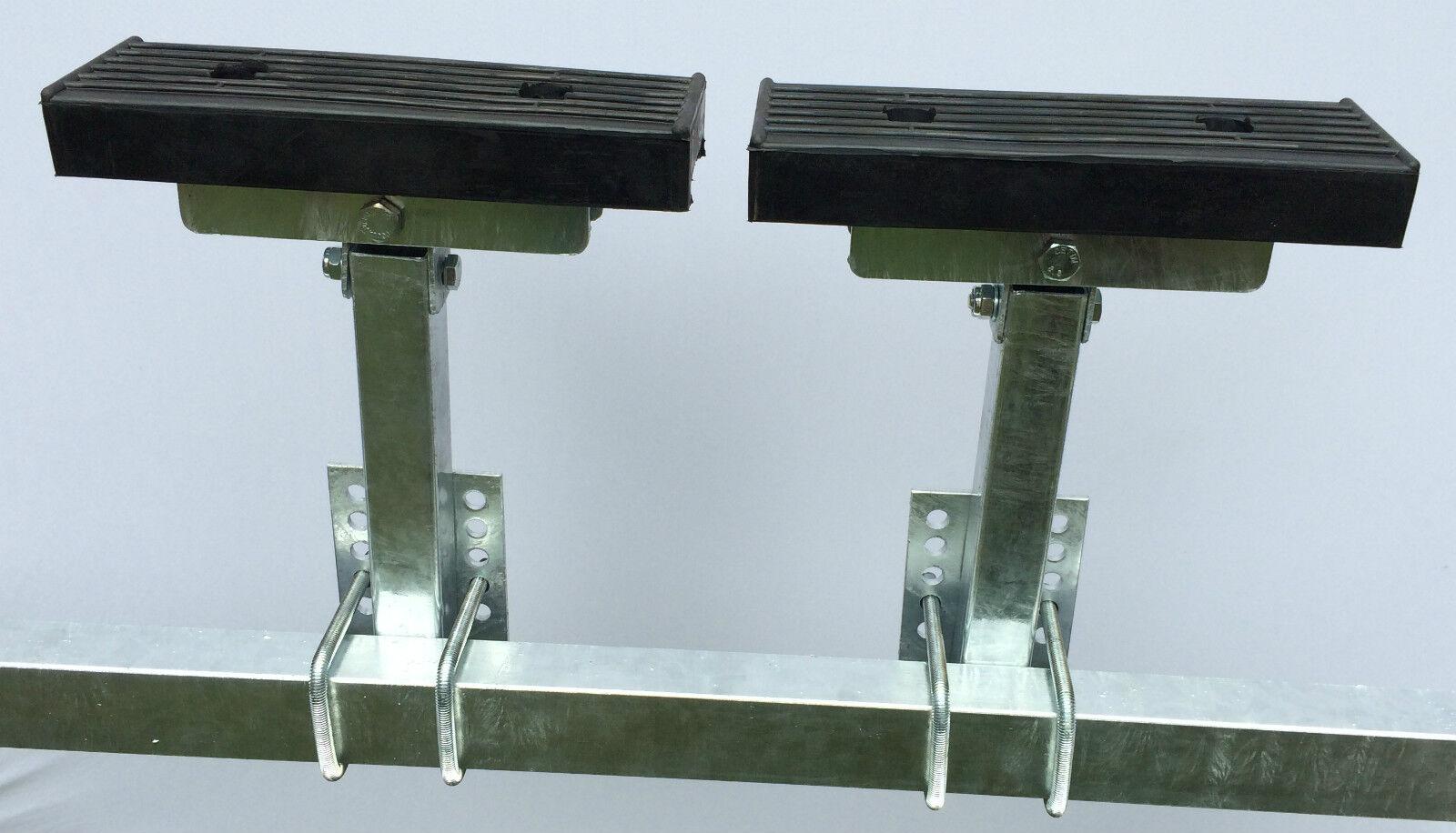 Langauflagen für Stiefeltrailer, Stiefeltrailer, für Stiefelauflage,1Paar, 2 Stützenlängen wählbar 175c41