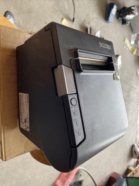 Epson TM-T88V M244A USB B Thermal Receipt Printer w/ PS-180 POWER SUPPLY
