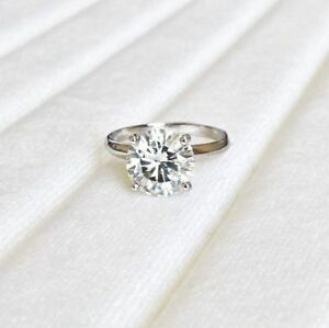 7-5mm-Charles-Colvard-FOREVER-BRILLIANT-1-5-Ct-Moissanite-14KWG-4-Prong-Ring