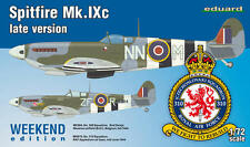 Eduard 1/72 Model Kit 7431 Supermarine Spitfire Mk.IXc late version C