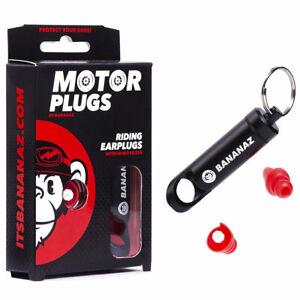 Bien éDuqué Bananaz Motorplugs Thunderplugs Protection De L'ouïe Bouchons D'oreilles Pour