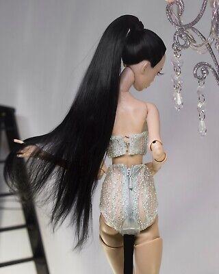 Alpaca bjd wig for Popovy sisters doll