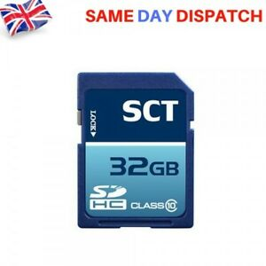 NEW SCT 32GB SD Class 10 SCT Professional High Speed Memory Card SDHC